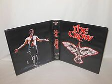 Custom Made The Crow CCG Trading Card Album Binder Graphics Only