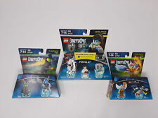 3 LEGO Dimensions Packs PORTAL 2 71203 WIZARD OF OZ 71221 CHIMA 71232 BRAND NEW