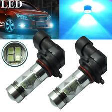 2Pcs Set 9005 HB3 8000K Ice Blue 100W LED 2323 H10 Fog Driving Light Bulbs DRL