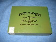 THE EDGE ROCKY PATEL Aged 5 Years Wooden Cigar Box Nat Wood