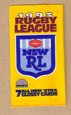 #D313.  EMPTY 1993  REGINA  RUGBY LEAGUE CARD PACKET, NO CARDS