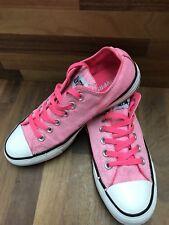 Converse All Star Sneaker Basse, Regno Unito misura 5, alta illuminate Rosa,