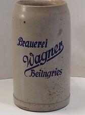 BIERKRUG BRAUEREI WAGNER BEILNGRIES