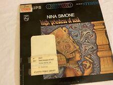 Nina Simone - High Priestess Of Soul LP - Philips - PHS 600-219 VG Play Tested
