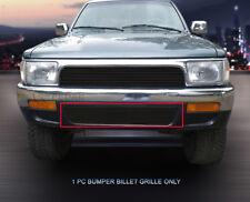 Fedar Fits 1992-1995 Toyota 4Runner Black Lower Bumper Billet Grille