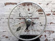 """Old School 36 Spoke Rear Wheel 3 Speed Shimano Drum Brake Hub, Fits 26"""" tire"""