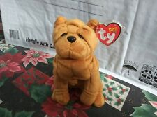 TY Beanie Babies (Crinkles The Dog ) 2003/2004 tush tag