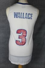Wallace #3 Vintage Detroit Pistons Basketball Jersey Nike Mens Xl
