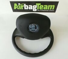 Skoda Fabia 2014 - Onwards Driver Airbag Black
