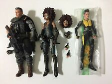 Marvel Legends Cinematic Universe CABLE, DOMINO, and NEGASONIC Deadpool 2 movie