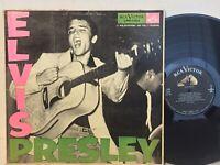 Elvis Presley 1st LPM 1254 VG+ MONO DG ORIG 17s/9s pink green GORGEOUS!