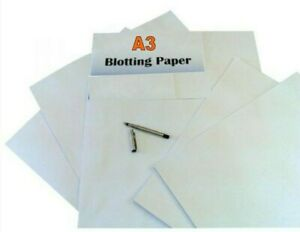 White A3 Blotting Paper 140gsm PACK OF 5