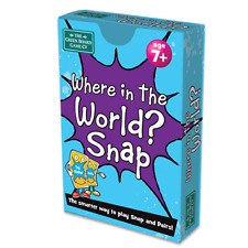 Where in the World? Snap + Pairs Card Game | Geography Resource