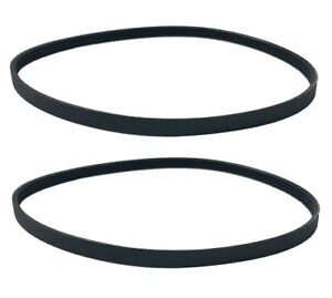 """(2) New Ribbed Drive Belts for Sears Craftsman 12"""" Band Saw Model 119.224000"""