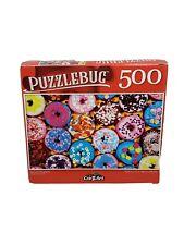 "Puzzlebug 500 Piece Jigsaw Puzzle ""DELICIOUS DOUGHNUTS"" 18.25""x11"" Family Fun"