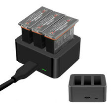 3 in 1 Multi Smart Battery Charger Hub Recharging batteries for DJI OSMO Action