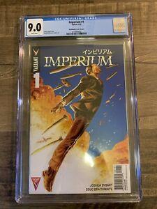 Imperium 1 Valiant Braithwaite 1:40 Variant 9.0 CGC Very Rare