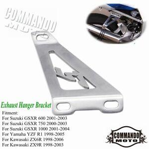 Motorcycle Exhaust Hanger Bracket For kawasaki Ninja ZX6R Ninja ZX9R 1998-2006