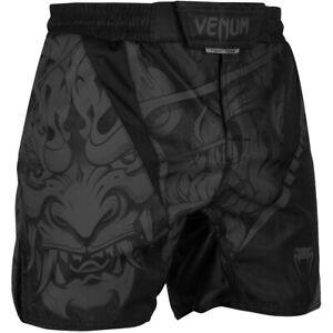 Venum Devil MMA Fight Shorts - Black/Black