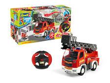 Revell 00974 RC Junior Feuerwehr Auto Fire Truck Drehleiter mit Fernsteueruung
