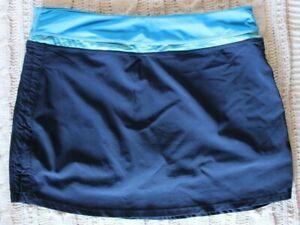 Tangerine Women's Navy/Blue Golf Skort ~M~