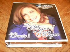 De Mujer a Mujer La Gracia I Elizabeth Russell 12 Disc Audio CD Set HCCN Spanish