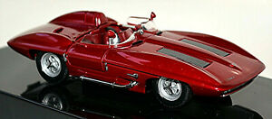 Chevrolet Corvette Stingray Racer 1959 Red Metallic 1:43 Autoart