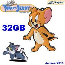 PEN DRIVE PENDRIVE DE TOM Y JERRY 32GB 32 GB ENVIO CERTIFICADO (4 8 16 64 RATON)
