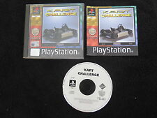 PS1 : KART CHALLENGE - Completo ! Compatibile PS2 e PS3