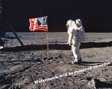 Photograph  NASA Space Moon Walk Astronaut Buzz Aldrin 11x14