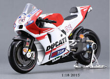 1:18 Scale Maisto Motorcycle Model Ducati Diecast No.4 MotoGP RacING Car Toys