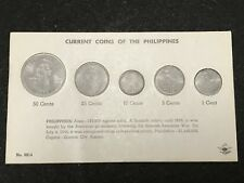 Philippines English Series Coin Type Set - Whitman Coin Holder (New)