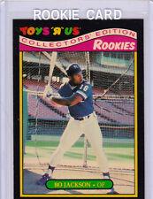 BO JACKSON Toys R Us #16 ROOKIE CARD Baseball RC Kansas City Royals FOOTBALL