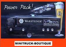 Warsteiner Brewery - McLaren Mercedes F1 D. Coulthard +++ MB Actros truck / 1:87