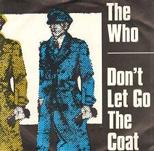 """WHO – Don't Let Go The Coat (1981 VINYL SINGLE 7"""" DUTCH PS)"""