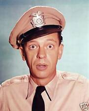 """""""Andy Griffith Show"""" Don Knotts 5x7 TV Memorabilia"""