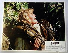TARZAN THE APE MAN Film Lobby Card Bo DEREK Richard HARRIS Miles O'KEEFE 1981