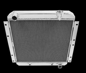 1969 1970 1971 Toyota Land Cruiser MC180 All  Aluminum 4 Row Champion Radiator