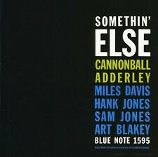 Adderley,Cannonball - Somethin' Else (CD NEUF)