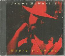 JAMES McMURTRY & John Mellencamp Producer Where's Johnny PROMO CD Single SEALED