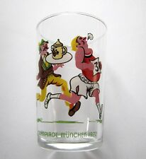 Jeux Olympique 1972 Verre Moutarde Olympiade München JO Glas