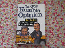 in our humble opinion car talks click and clack rant and rave tom and ray book