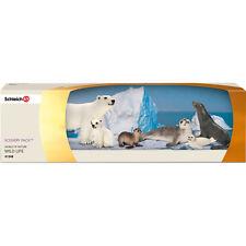 SCHLEICH 41348 Arctic Animals Scenery Pack - 14659 14702 14703 14365 14704 14660