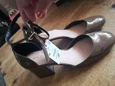 Zara Size 7 40 Taco/Mustard Shoes Thick Heels