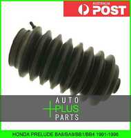 Fits PRELUDE BA8/BA9/BB1/BB4 - Left Hand Lh Steering Rack End Dust Boot Rubber