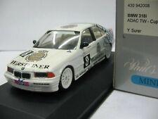 WOW EXTREMELY RARE BMW E36 1994 318iS #8 Surer 1st pnt Avus STW 1:43 Minichamps