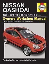 Reparaturanleitung Nissan Qashqai 2007 bis  2012