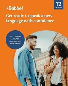 Babbel Learn a New Language - 12 Month Subscription for iOS Android Mac & PC ...