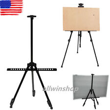 Telescopic Artist Folding Painting Easel Adjustable Tripod Display Stand HP