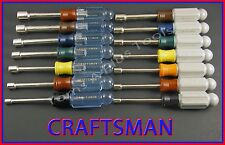 Craftsman Hand Tools 14pc Sae and Metric Mm Nut Driver set ! (Free Shipping)!